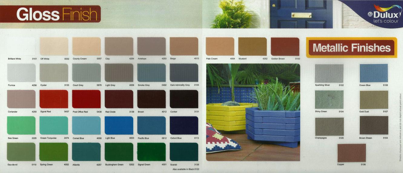 Gobis Paint Colours